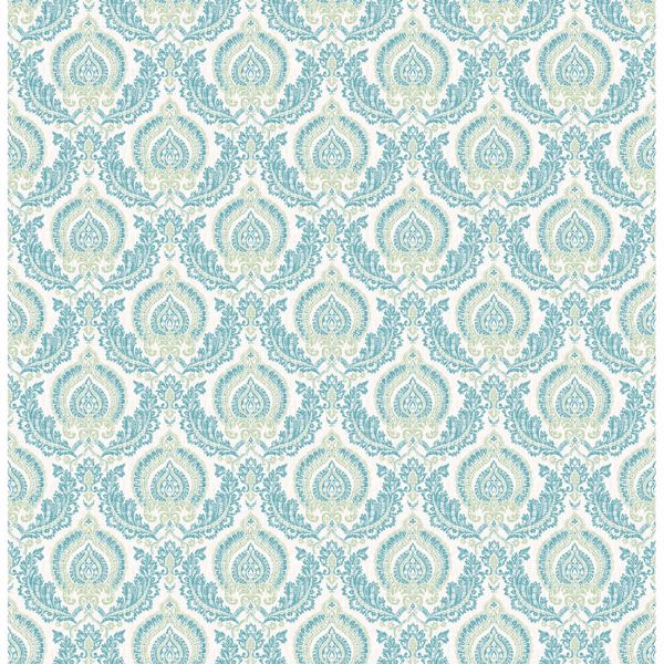Picture of Lulu Green Damask