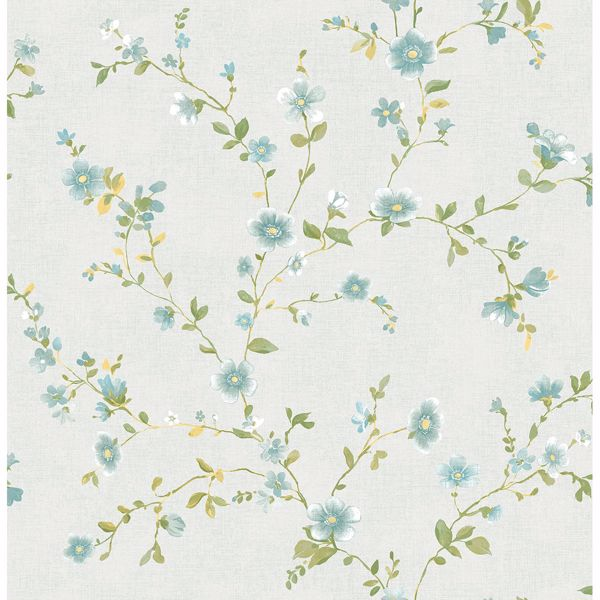 Picture of Delphine Light Blue Floral