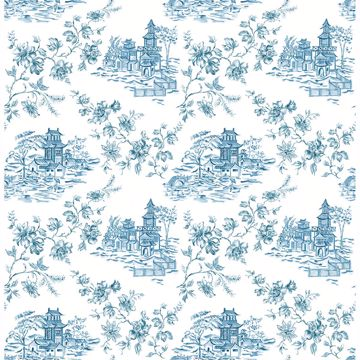 Picture of Laure Blueberry Toile