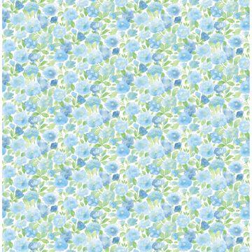 Picture of Elsie Sky Blue Floral