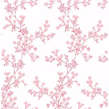 Picture of Claire Pink Floral Trail