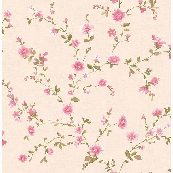 Picture of Delphine Pink Floral Trail