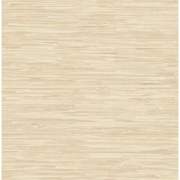 Picture of Natalie Taupe Faux Grasscloth