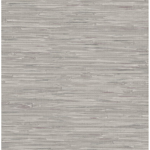 Picture of Natalie Grey Grasscloth Print