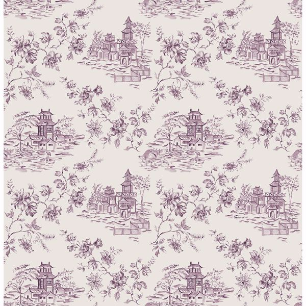 Picture of Laure Purple Toile