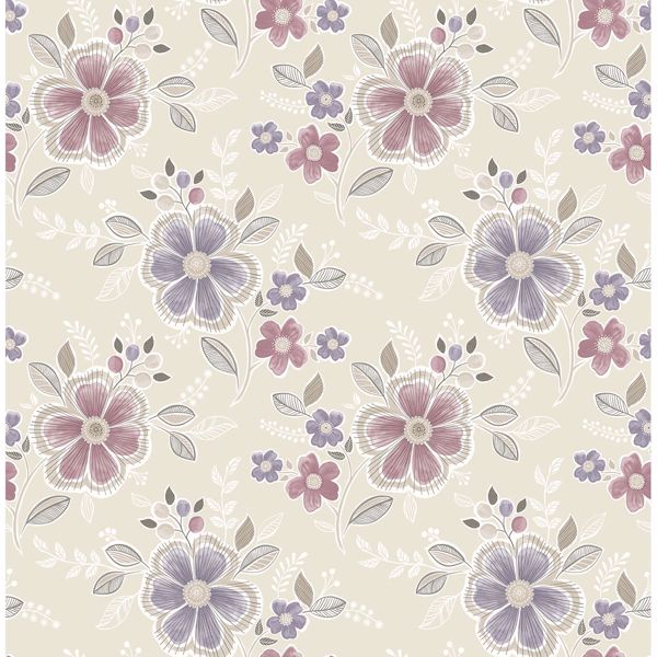 Picture of Chloe Purple Floral