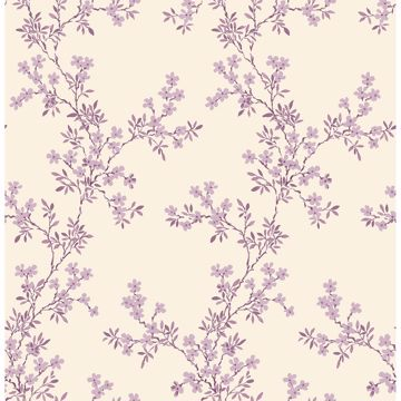 Picture of Claire Purple Floral Trail
