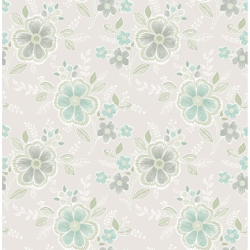 Picture of Chloe Aquamarine Floral