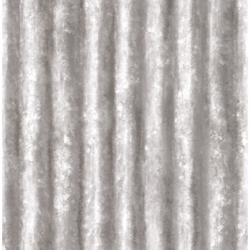 Picture of Corrugated Metal Silver Industrial Texture