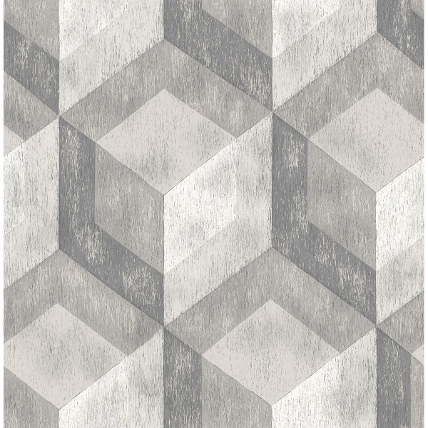 Picture of Rustic Wood Tile Ash Geometric