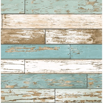 Picture of Scrap Wood Turquoise Weathered Texture