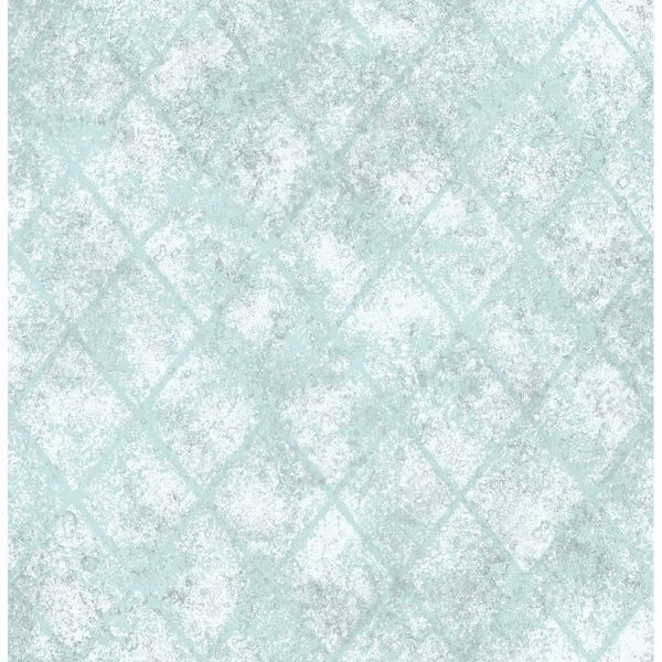 Picture of Mercury Glass Blue Distressed Metallic