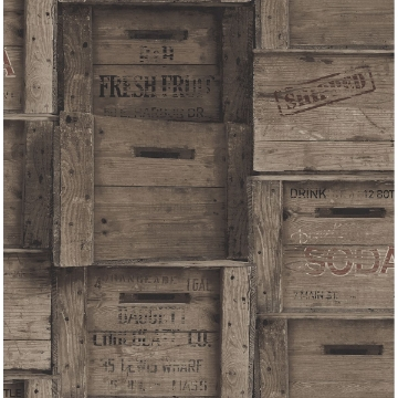 Picture of Wood Crates Dark Wood Distressed Wood