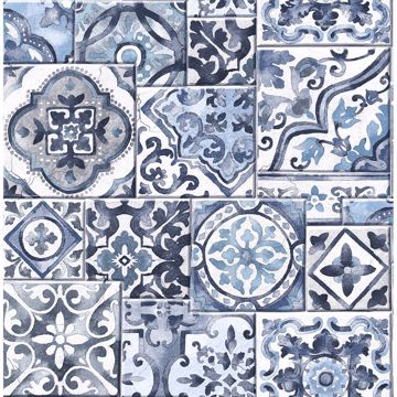 Picture of Marrakesh Tiles Blue Mosaic