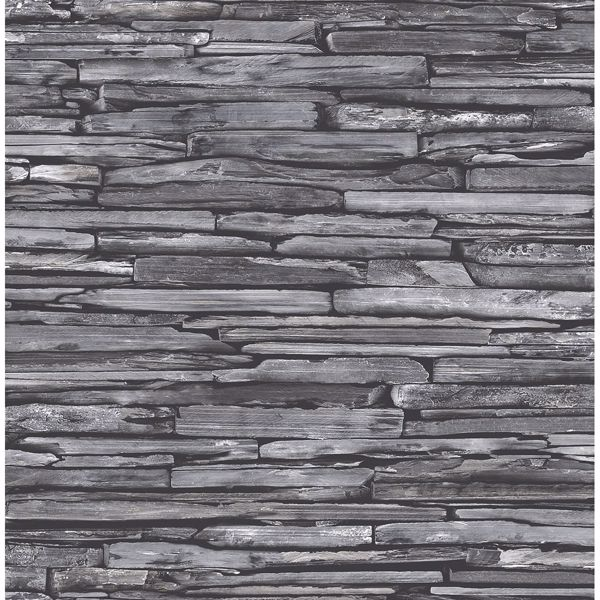Picture of Stacked Slate Charcoal Industrial