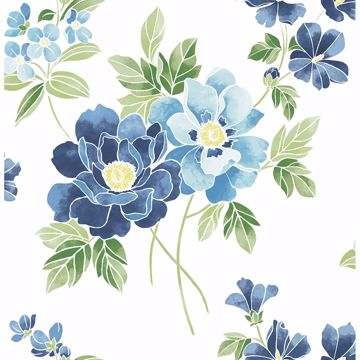 Picture of Claressa Blueberry Large Floral