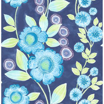 Picture of Bloom Blue Floral