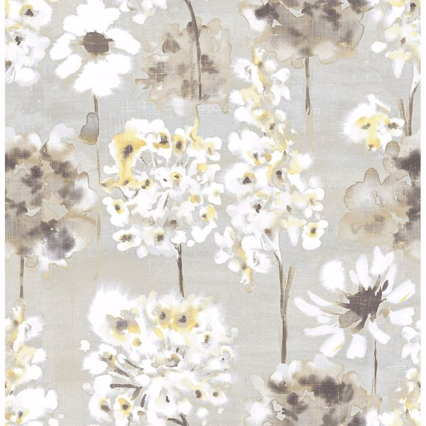 Picture of Marilla Yellow Watercolor Floral
