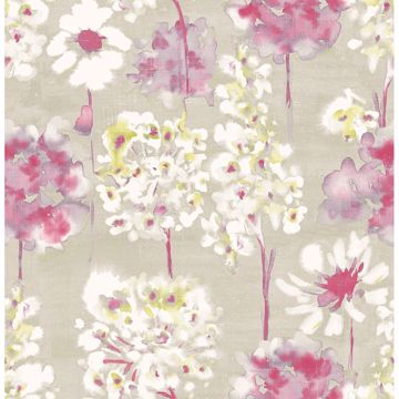 Picture of Marilla Pink Watercolor Floral