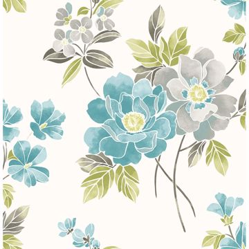 Picture of Claressa Teal Floral