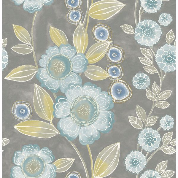 Picture of Bloom Grey Floral