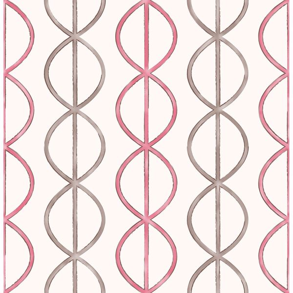 Picture of Banning Stripe Pink Geometric