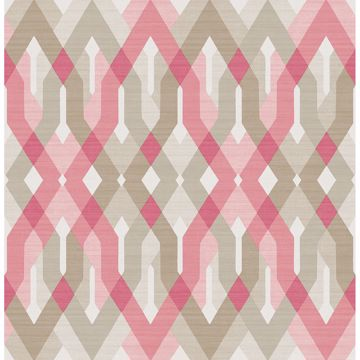 Picture of Harbour Pink Geometric