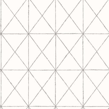 Picture of Intersection White Geometric
