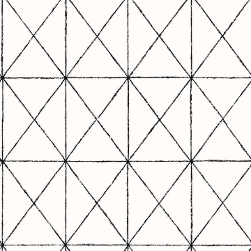 Picture of Intersection Black Geometric