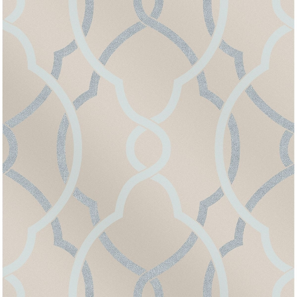 Picture of Sausalito Light Blue Lattice