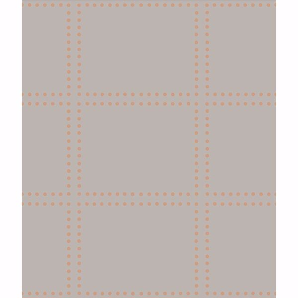 Picture of Gridlock Copper Geometric