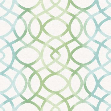 Picture of Twister Aquamarine Trellis