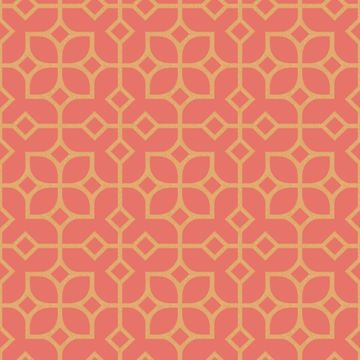 Picture of Maze Orange Tile