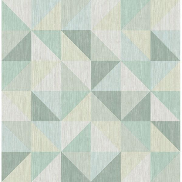 Picture of Puzzle Green Geometric
