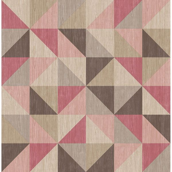 Picture of Puzzle Pink Geometric