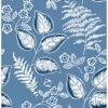 Picture of Trianon Blue Botanical