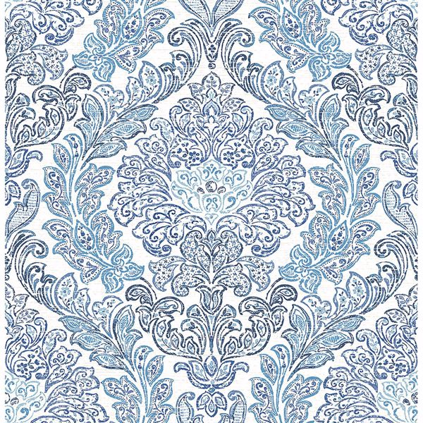 Picture of Fontaine Navy Damask