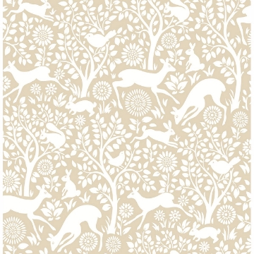 Picture of Meadow Taupe Animals