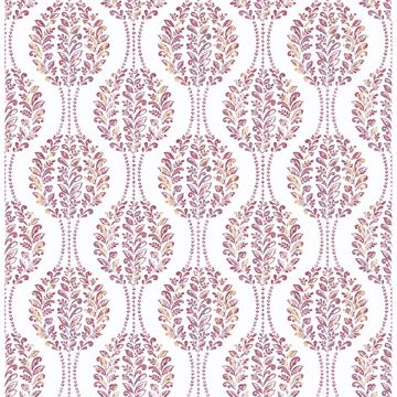 Picture of Versailles Magenta Floral Damask