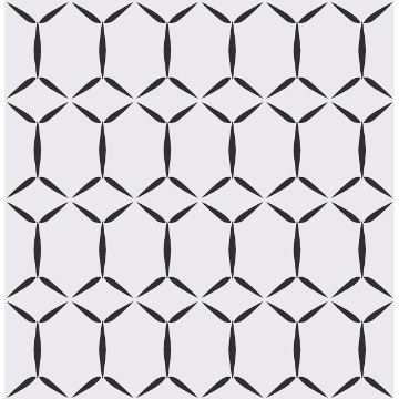 Picture of Fusion White Geometric Wallpaper