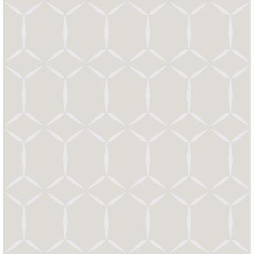 Picture of Fusion Neutral Geometric Wallpaper