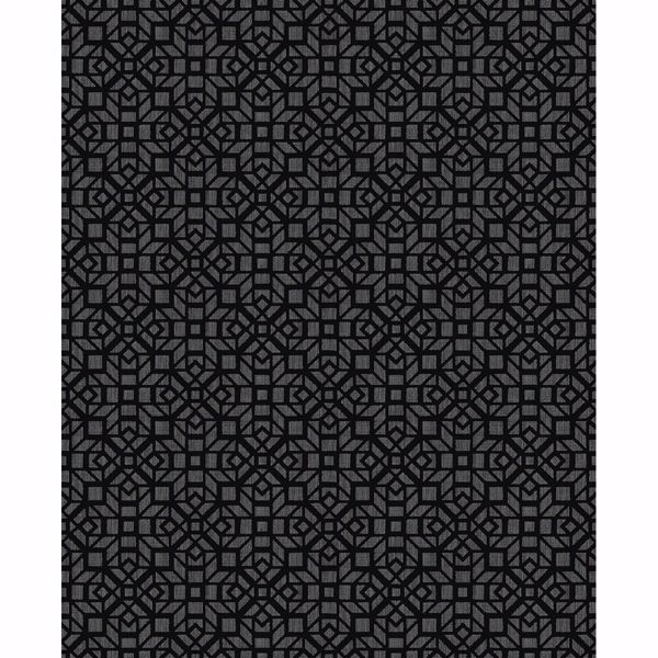 Picture of Element Black Mosaic Wallpaper