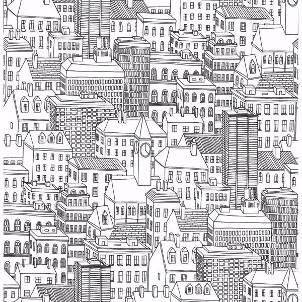 Picture of Limelight White City Wallpaper