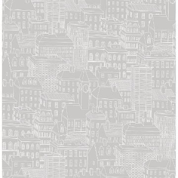 Picture of Limelight Grey City Wallpaper