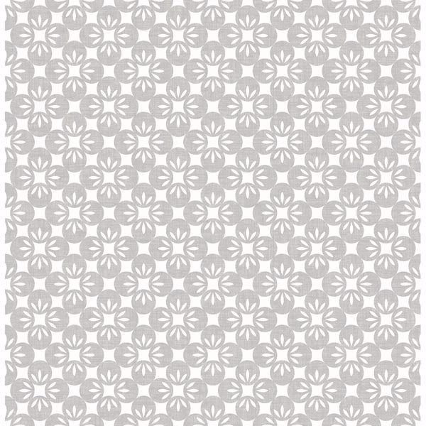 Picture of Orbit Dove Floral Wallpaper