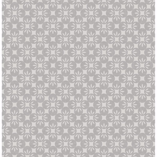 Picture of Orbit Grey Floral Wallpaper