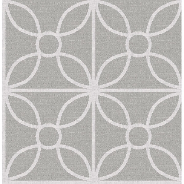 Picture of Savvy Grey Geometric Wallpaper