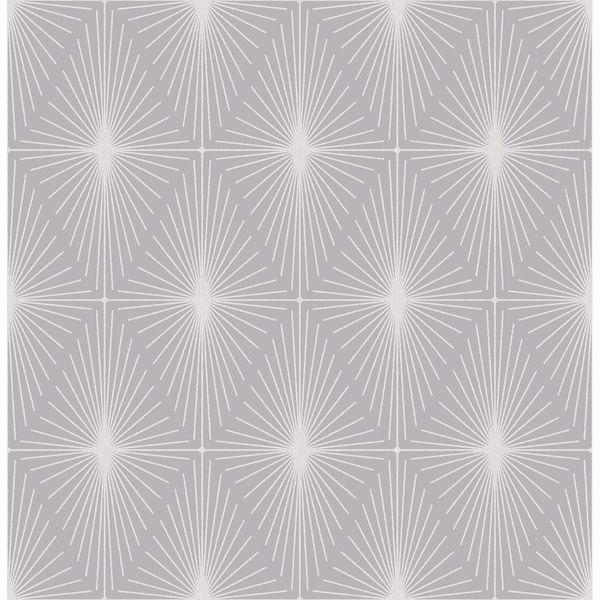 Picture of Starlight Grey Diamond Wallpaper