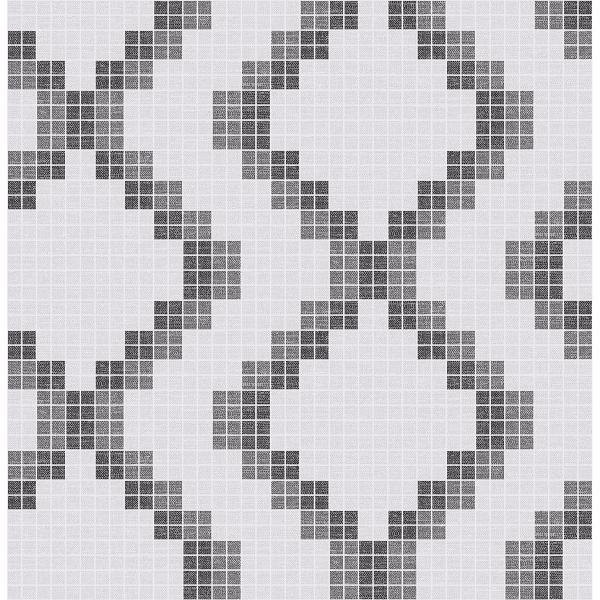 2716 23864 Mosaic Black Grid Wallpaper By A Street Prints