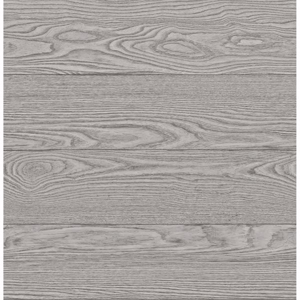 Picture of Salvaged Wood Grey Plank Wallpaper